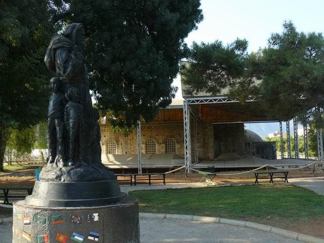Estatua San Nicolás en Demre
