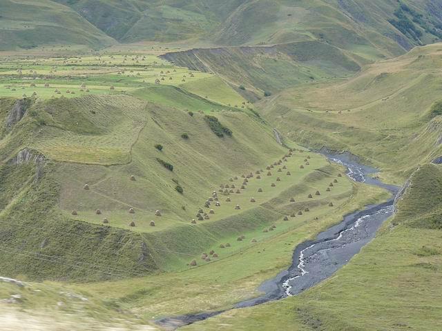 Valle en el Caucaso