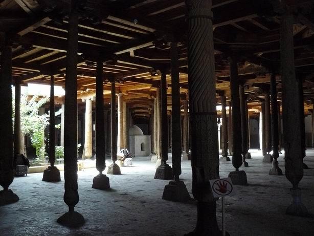 Mezquita principal, Khiva