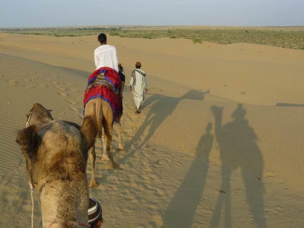 Por el desierto del Thar