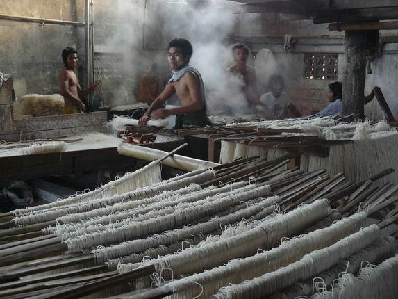 Fábrica de fideos, Hsipaw