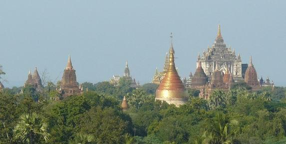 Templos en Bagán