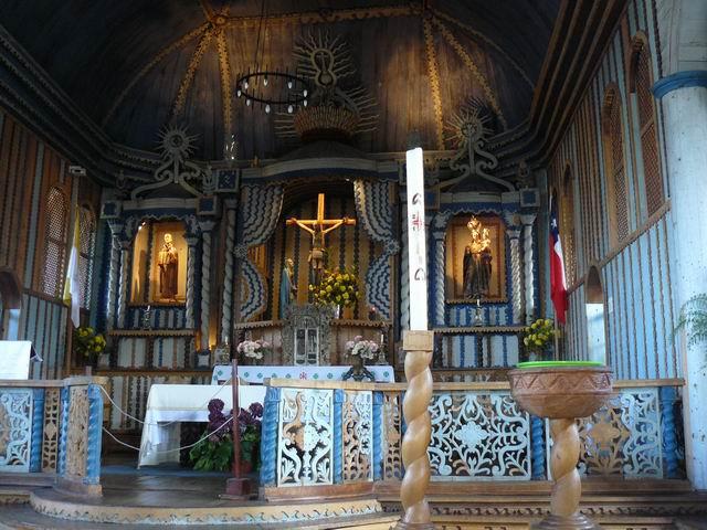 Iglesia de Sta Mª Loreto, Achao