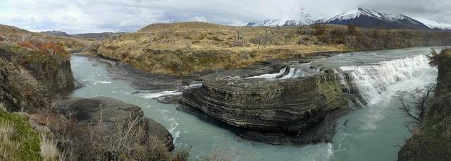 Salto del río Paine